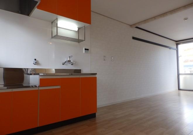 オレンジ香るキッチン