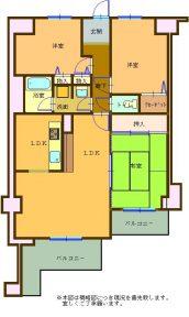 コスモ野洲706号室(508)
