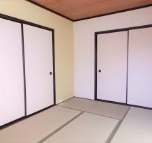 [和室2] 押入もきちんと完備