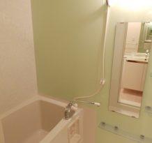 浴室も綺麗だー。