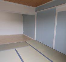 和室はリビングの続き間になっています。ほっこりできる。