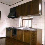 [キッチン]立派なキッチンセット。さすが戸建だ